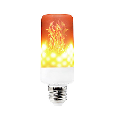 YWXLIGHT® 1pc 6 W 550-600 lm E14 / B22 / E12 LED Corn Lights T 99 LED Beads SMD 3528 Dimmable / Decorative / Flame Flickering Warm White 85-265 V