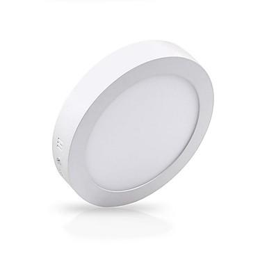 billige Indendørsbelysning-zdm 12w 1000lm overflademontering LED taklampe rund flad led loftbelysningslængde kold hvid varm hvid ac85-265v kontor stue / spisestue kommerciel