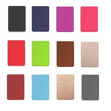 Etui Til Amazon Kindle PaperWhite 4 Stødsikker / Med stativ / Magnetisk Fuldt etui Ensfarvet Hårdt PU Læder for Kindle PaperWhite 4