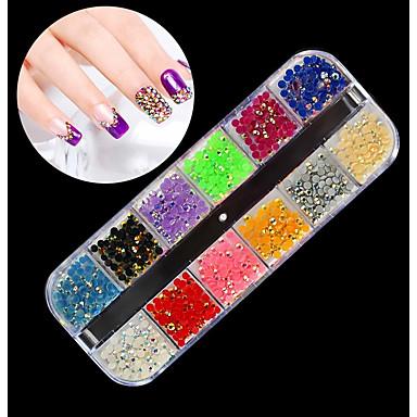 1 pcs Universal / Novelty Plastics Nail Jewelry Rhinestones For ...