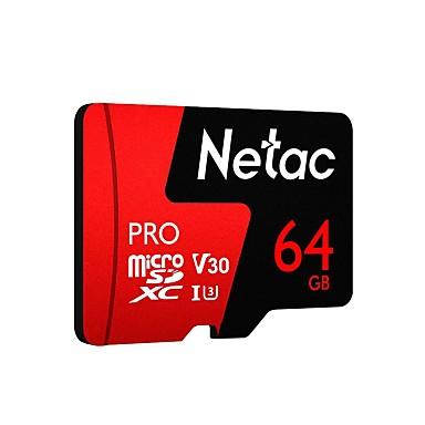billige Hukommelseskort-Netac 64GB hukommelseskort UHS-I U3 / V30 P500pro