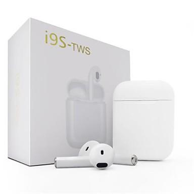 ราคาถูก หูฟังและชุดหูฟัง-Factory OEM i9S ไร้สาย บลูทูธ หูฟัง หูฟัง ABS + PC EARBUD หูฟัง Stereo ชุดหูฟัง