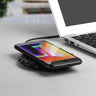 Недорогие Гаджеты для Samsung-Беспроводное зарядное устройство Зарядное устройство USB USB Беспроводное зарядное устройство / Qi 1 USB порт 1 A DC 5V для iPhone X / iPhone 8 Pluss / iPhone 8