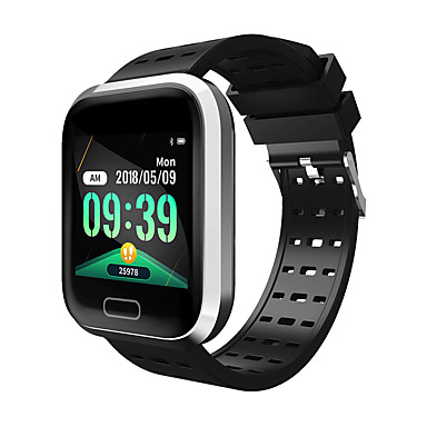 Indear M16 Men Smart Bracelet Smartwatch Android iOS Bluetooth Smart Sports Waterproof Heart Rate Monitor Blood Pressure Measurement Pedometer Call Reminder Activity Tracker Sleep Tracker Sedentary