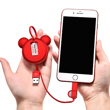 halpa Kaapelit ja adapterit-Mikro USB / C-tyypin Kaapeli 1m-1.99m / 3ft-6ft Tasapohja / 41641.0 / Korkea nopeus TPE / ABS + PC USB-kaapelisovitin Käyttötarkoitus Samsung / Huawei / LG