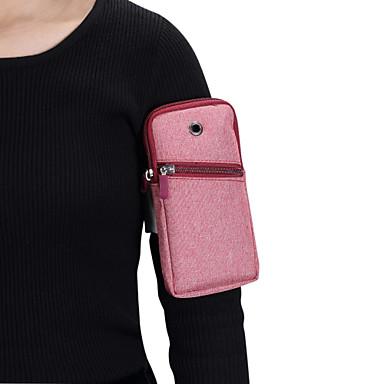 voordelige Universele hoesjes & tasjes-hoesje Voor Blackberry / Apple / Samsung Galaxy Universeel SportArmband Armband / Buideltas Effen Zacht Kangas