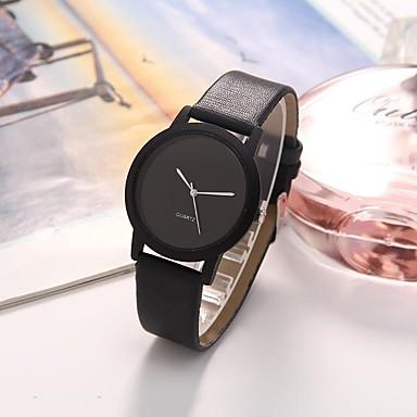 preiswerte Damen Uhren-Damen Uhr Kleideruhr Quartz Leder Weiß / Blau / Braun 30 m Wasserdicht Armbanduhren für den Alltag Analog Freizeit Modisch Braun Hellblau Dunkelgrün
