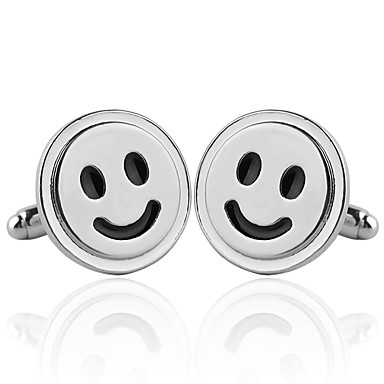 billige Originalt-Fashion Jewelry Happy Smiley Face Originale Daglig Bærbar