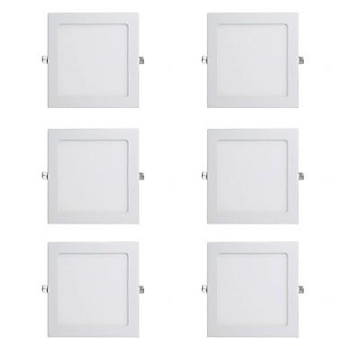 billige Indendørsbelysning-6stk 15 W 1150 lm 60 LED Perler Let Instalation Forsænket LED nedlys Varm hvid Kold hvid 220-240 V Kommercielt Hjem / kontor Soveværelser