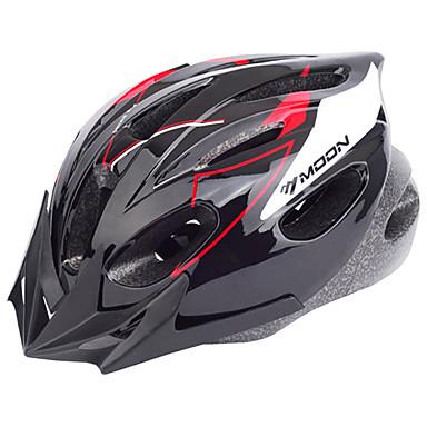 ieftine Căști-MOON Adulți biciclete Casca 16 Găuri de Ventilaţie CE Rezistent la Impact Lumina Greutate Vizor detașabil PVC EPS Sport Bicicletă montană Ciclism stradal Ciclism / Bicicletă Bărbați Pentru femei