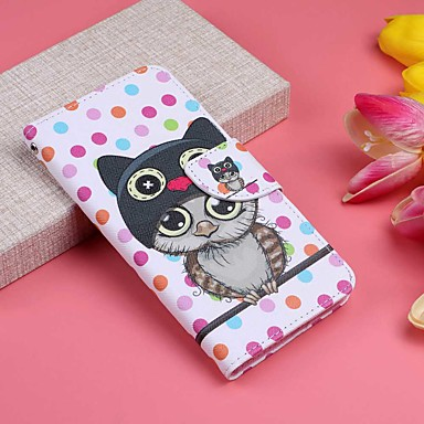 Case For Huawei Huawei Mate 20 Lite / Huawei Mate 20 Pro Wallet / Card Holder / with Stand Full Body Cases Owl Hard PU Leather for Mate 10 lite / Huawei Mate 20 lite / Huawei Mate 20 pro