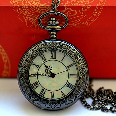Χαμηλού Κόστους Ανδρικά ρολόγια-Ανδρικά Ρολόι Τσέπης Χαλαζίας Μαύρο / Ασημί Καθημερινό Ρολόι Απίθανο Αναλογικό Νέα άφιξη Μινιμαλιστική - Μαύρο Ασημί