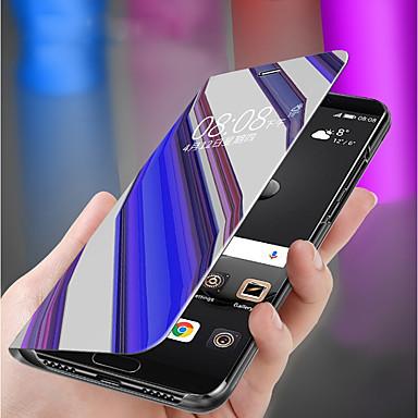 voordelige Galaxy J-serie hoesjes / covers-hoesje Voor Samsung Galaxy J8 (2018) / J7 / J6 Plus Portemonnee Volledig hoesje Effen Hard PC