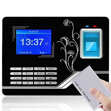 billige Adgangskontrolsystemer-YK&SCAN F20 Deltagelse Maskine Optag forespørgslen Fingeraftryk / Adgangskode / ID Kort Skole / Hotel / Kontor