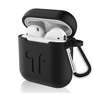 billige Tilbehør til høretelefoner-Hovedtelefonerui Silikone Hvid / Sort / Rød 1 pcs