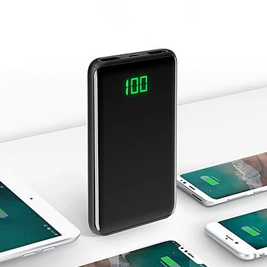 رخيصةأون باور بانك-20000 mAh من أجل بنك الطاقة بطارية خارجية 5 V من أجل 2.1 A من أجل شاحن بطارية عملة أتوماتيكة LCD