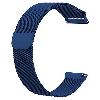 Недорогие Аксессуары для смарт-часов-Ремешок для часов для Fitbit Versa / Fitbit Versa Lite Fitbit Миланский ремешок Металл Повязка на запястье