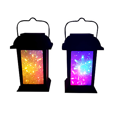 1 buc 0.2 W Veioză / Lumini Solare LED / Led Street Street Solar / Decorativ Multicolor 1.2 V Lumina Exterior / Curte / Grădină LED-uri de margele