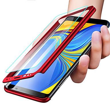 Недорогие Чехлы и кейсы для Galaxy S6-Кейс для Назначение SSamsung Galaxy S9 / S9 Plus / S8 Plus Защита от удара / Ультратонкий / Матовое Чехол Однотонный Твердый ПК