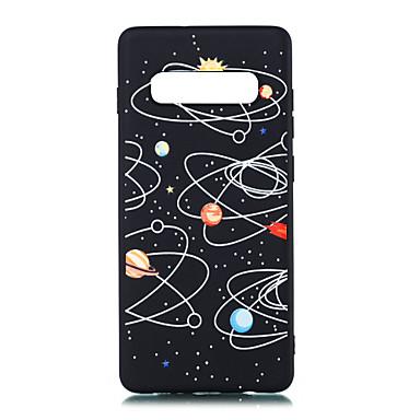 voordelige Galaxy S-serie hoesjes / covers-hoesje Voor Samsung Galaxy S9 / S9 Plus / S8 Plus Mat / Patroon Achterkant Landschap Zacht TPU