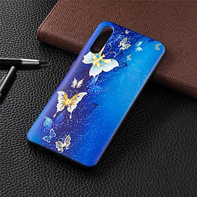 voordelige Huawei Y-serie hoesjes / covers-hoesje Voor Huawei Huawei Nova 3i / Huawei P20 / Huawei P20 Pro Patroon Achterkant dier / Cartoon / Boom Zacht TPU / P10 Lite / P10