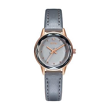 15dde545bc30 abordables Relojes de Mujer-KEZZI Mujer Relojes Quartz Clásico Casual Negro  Blanco Verde Cuero Sintético