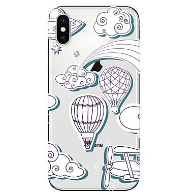 Недорогие Кейсы для iPhone-чехол для яблока iphone xr / iphone xs max шаблон задняя крышка еда мягкое тпу для iphone x xs 8 8plus 7 7plus 6 6plus 6s 6s plus
