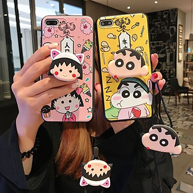 voordelige iPhone 6 Plus hoesjes-hoesje Voor Apple iPhone XS / iPhone XR / iPhone XS Max met standaard Achterkant Cartoon Zacht Siliconen