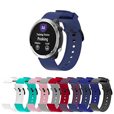 billige Telefontilbehør-Klokkerem til vivomove / vivomove HR / Vivoactive 3 Garmin Sportsrem Silikon Håndleddsrem