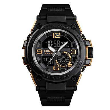 levne Pánské-SKMEI Pánské Vojenské hodinky Navy Seal Watch Digitální Černá 50 m Armáda Bluetooth Smart Analog - Digitál Outdoor Módní - Černá Modrá Zlatá Jeden rok Životnost baterie / Chronograf / Stopky