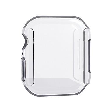 Недорогие Кейсы для Apple Watch-Кейс для Назначение Apple Apple Watch Series 4 PU Apple
