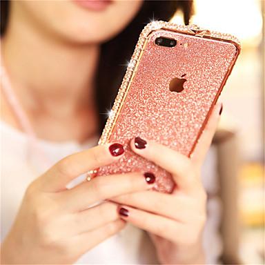 voordelige iPhone 6 hoesjes-hoesje Voor Apple iPhone XS / iPhone XR / iPhone XS Max Strass / Glitterglans Achterkant Glitterglans Hard Metaal