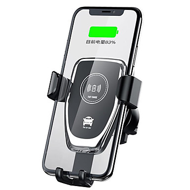Недорогие Гаджеты для Samsung-Cwxuan Быстрое зарядное устройство / Беспроводное зарядное устройство / Беспроводные автомобильные зарядные устройства Зарядное устройство USB USB Беспроводное зарядное устройство / Qi 1 A DC 12V