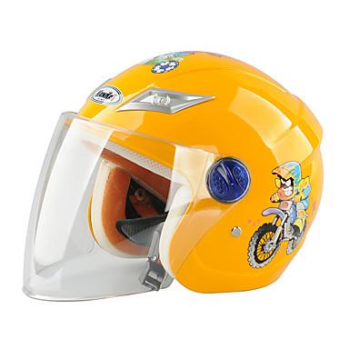 billige Tilbehør til motorcykler og AV-køretøjer-Halvhjelm Børn Drenge / Pige Motorcykel hjelm Nem dressing / Child Safe Case / Ultra Lys (UL)