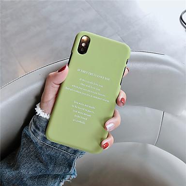 voordelige iPhone 6 hoesjes-hoesje voor apple iphone xr / iphone xs max patroon achterkant woord / zin harde pc voor iphone 6 6s 6plus 6s plus 7 8 7plus 8plus x xs