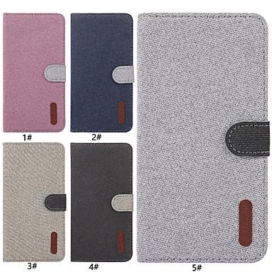 voordelige iPhone X hoesjes-hoesje voor apple iphone xr / iphone xs max magnetisch / flip / met standaard full body koffers stevig gekleurd hard textiel voor 6 6 plus 6s 6splus 7 8 7plus 8plus x xs