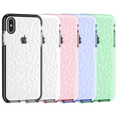 voordelige iPhone 6 hoesjes-hoesje Voor Apple iPhone XR / iPhone XS Max / iPhone X Kaarthouder Achterkant Effen Hard PC