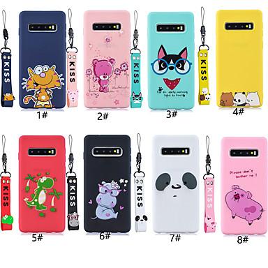 voordelige Galaxy S-serie hoesjes / covers-hoesje Voor Samsung Galaxy S9 / S9 Plus / S8 Plus Patroon Achterkant dier / Cartoon Zacht TPU