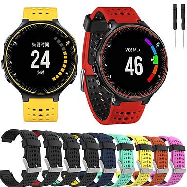 cheap Watch Bands for Garmin-Watch Band for Forerunner 235 / Forerunner 230 / Forerunner 220 Garmin Sport Band Silicone Wrist Strap