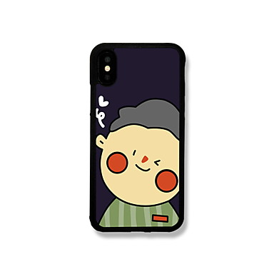 voordelige iPhone 6 Plus hoesjes-hoesje Voor Apple iPhone XS / iPhone XR / iPhone XS Max Patroon Achterkant Cartoon Hard Aluminium