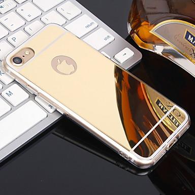 voordelige iPhone 5 hoesjes-hoesje Voor Apple iPhone XS / iPhone XR / iPhone XS Max Spiegel Achterkant Effen Zacht TPU