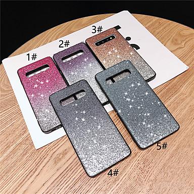 voordelige Galaxy S-serie hoesjes / covers-hoesje Voor Samsung Galaxy S9 / S9 Plus / S8 Plus Strass / Glitterglans Achterkant Bloem / Kleurgradatie Hard TPU