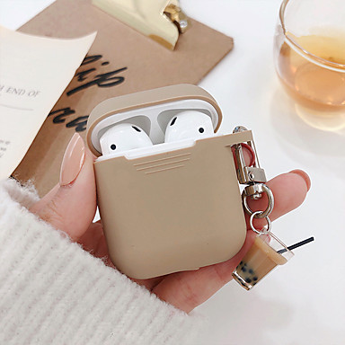 cheap AirPods Cases-Case For AirPods Shockproof / Dustproof Headphone Case Soft