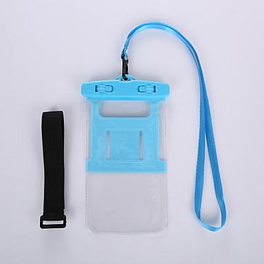 voordelige Universele hoesjes & tasjes-hoesje Voor Universeel Universeel Waterbestendig / Armband Waterdicht etui Effen Zacht PVC