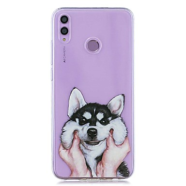 voordelige Huawei Mate hoesjes / covers-hoesje voor huawei honor 8x / huawei p smart (2019) patroon / transparante achterkant hoes zachte tpu voor mate10 pro / mate10 lite / y6 (2018) / y5 (2018) / p20 lite / p smart / p20 pro
