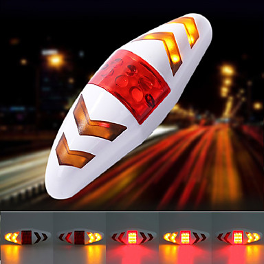 cheap Bike Lights-LED Bike Light Rear Bike Tail Light Safety Light Tail Light - Cycling With Battery Remote Control / RC Multiple Modes AAA 100 lm 2 AAA Batteries Multi Color Cycling / Bike / IPX-4