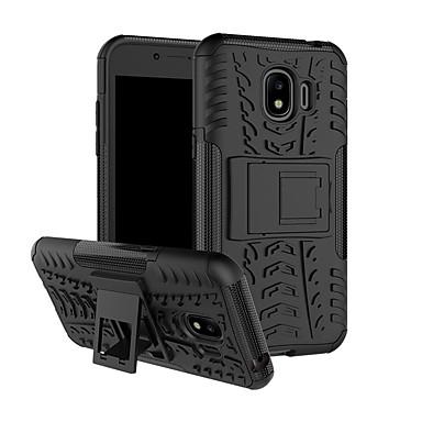 Недорогие Чехлы и кейсы для Galaxy S6-Кейс для Назначение SSamsung Galaxy S8 Plus / S8 / S8 Edge Защита от удара / Защита от пыли Кейс на заднюю панель броня Твердый Пластик / ПК