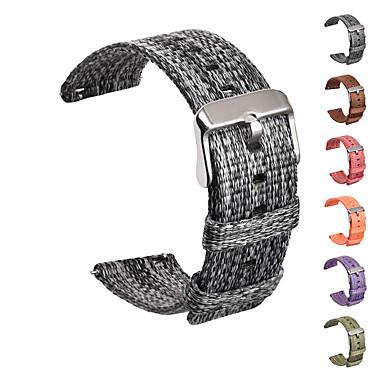 Недорогие Часы для Samsung-Ремешок для часов для Gear S2 / Gear S2 Classic / Samsung Galaxy Watch 42 Samsung Galaxy Современная застежка Нейлон Повязка на запястье