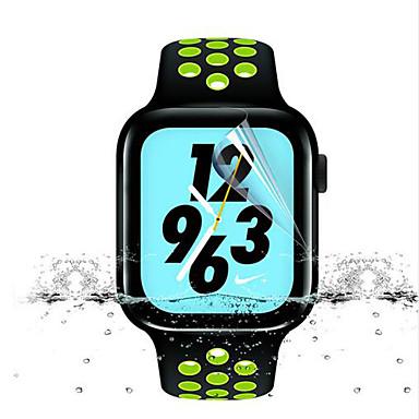 Недорогие Защитные пленки для Apple Watch-Защитная плёнка для экрана Назначение iWatch 38мм PET HD / Зеркальная поверхность 1 ед.