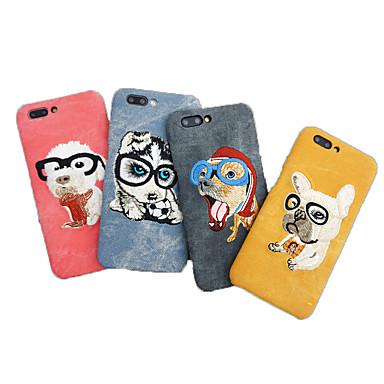 voordelige iPhone X hoesjes-hoesje Voor Apple iPhone XS / iPhone XR / iPhone XS Max Schokbestendig Achterkant Hond Zacht tekstiili